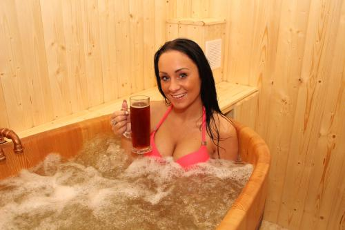 Beer bath for 1-2 pers.